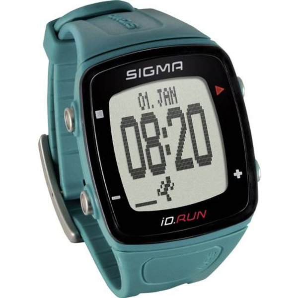 Sigma iD.Run GPS Fitness Tracker - One Size Black/Teal | Watches