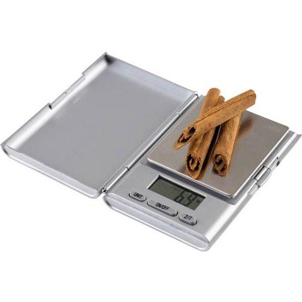 Balance de poche Korona 79444 Plage de pesée (max.) 500 g Résolution 0.1 g argent (mat) 1 pc(s)