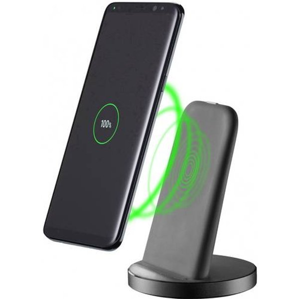 Cellular Line Wireless Fast Charger Stand schwarz