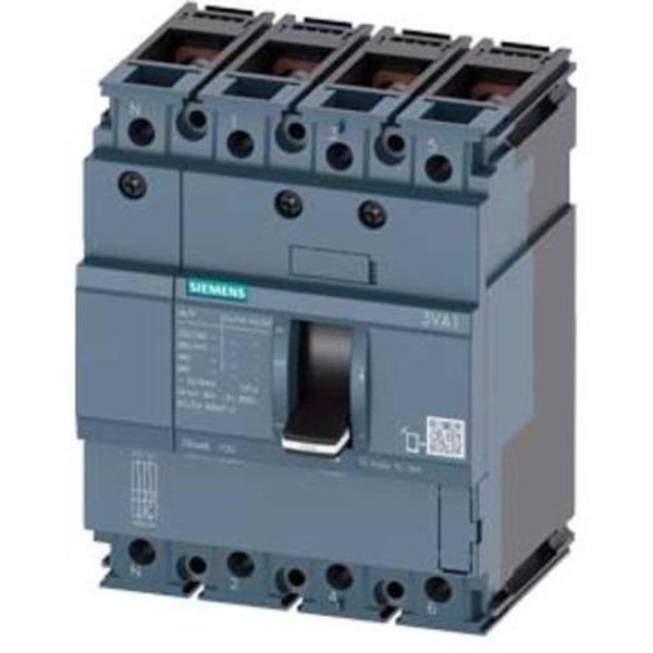 Siemens 3VA1080-4ED42-0HH0 Leistungsschalter 1 St. 3 Wechsler Einstellbereich (Strom): 80 - 80A Scha