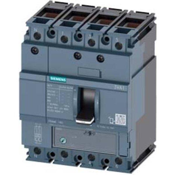 Siemens 3VA1112-5FE46-0AA0 Leistungsschalter 1 St. Einstellbereich (Strom): 88 - 125A Schaltspannung