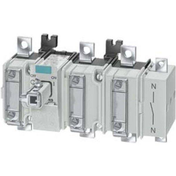 Siemens Lasttrennschalter 4polig 35mm² 80A 690 V/AC 3KA51401AE01