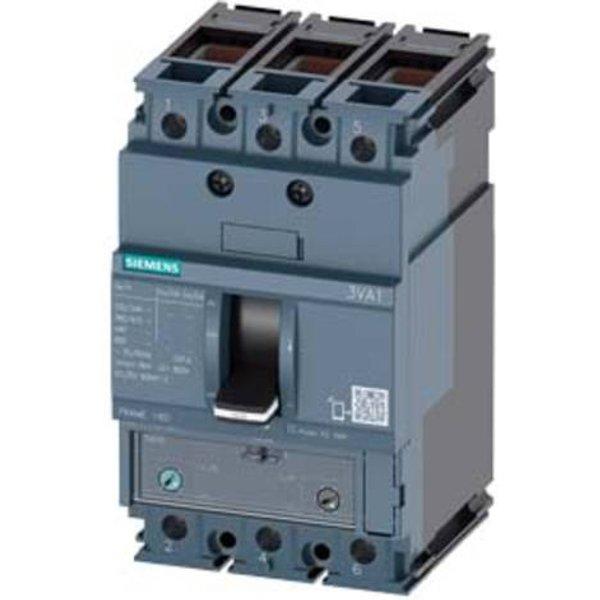 Siemens 3VA1112-3EF36-0AB0 Leistungsschalter 1 St. 2 Wechsler Einstellbereich (Strom): 88 - 125A Sch