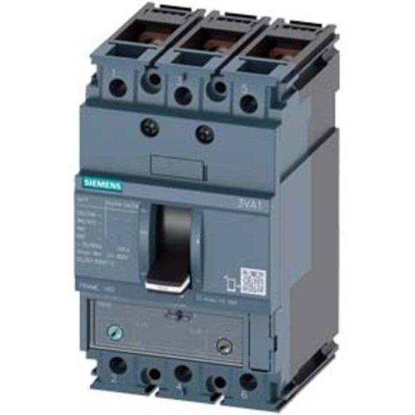 Siemens 3VA1112-4EF32-0AC0 Leistungsschalter 1 St. 2 Wechsler Einstellbereich (Strom): 88 - 125A Sch