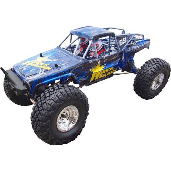 Amewi AMXRock RockHammer Crawler, blau, 1:10, RTR