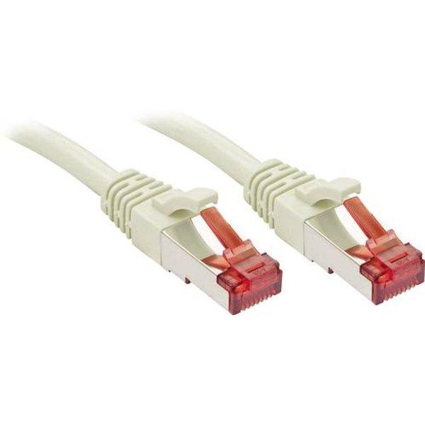 Câble réseau Cat.6 S/FTP, cuivre, 250MHz, gris, 1,5m
