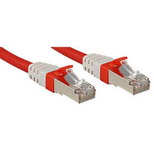 Lindy Premium cordon de raccordement - 1 m - rouge