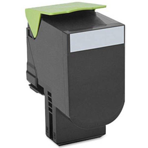 Toner dorigine Lexmark 800S1 CX310 noir (80C0S10)