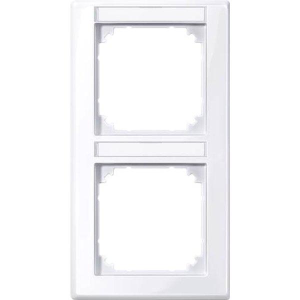 Merten Rahmen Abdeckung System M Weiß 470225