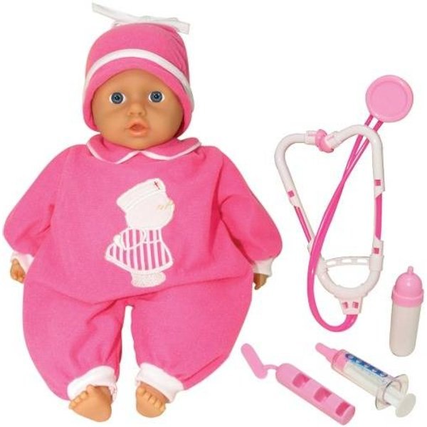 Amia Doktor-Puppe mit Zubehör, 33cm 50004431