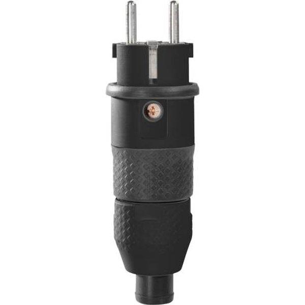 ABL SURSUM 2KT-Schutzkontakt-Stecker sw/sw 2,5 qmm 1529100