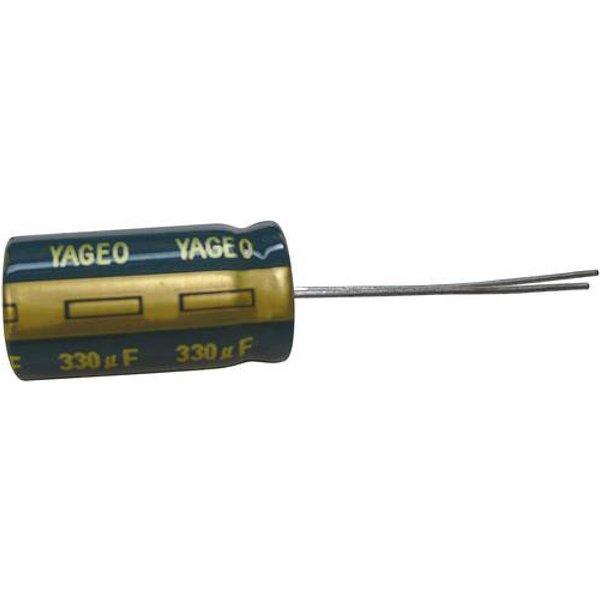 Condensateur électrolytique sortie radiale 3300 µF 6.3 V Yageo SC006M3300B5S-1325 (Ø x h) 13 mm x 25 mm 20 % Pas: 5 mm