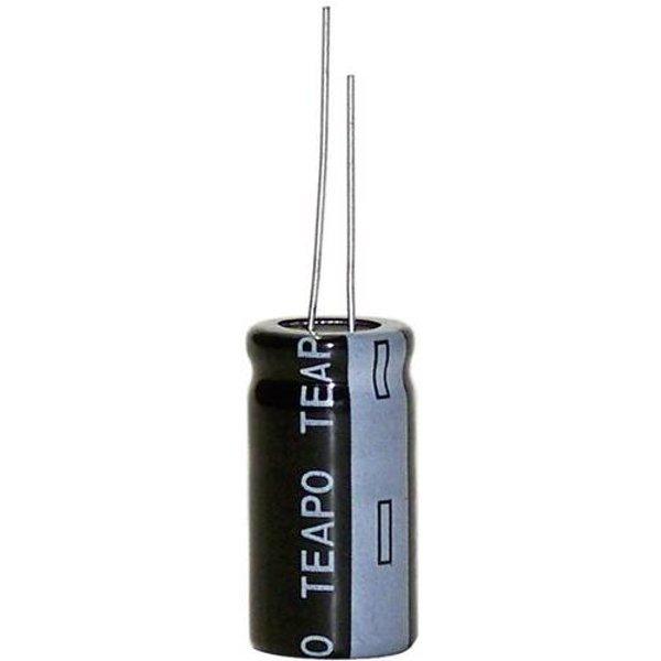 Condensateur électrolytique sortie radiale 1000 µF 35 V Teapo SY 1000uF/35V 13x25mm (Ø x L) 13 mm x 25 mm 20 % Pas: 5 m