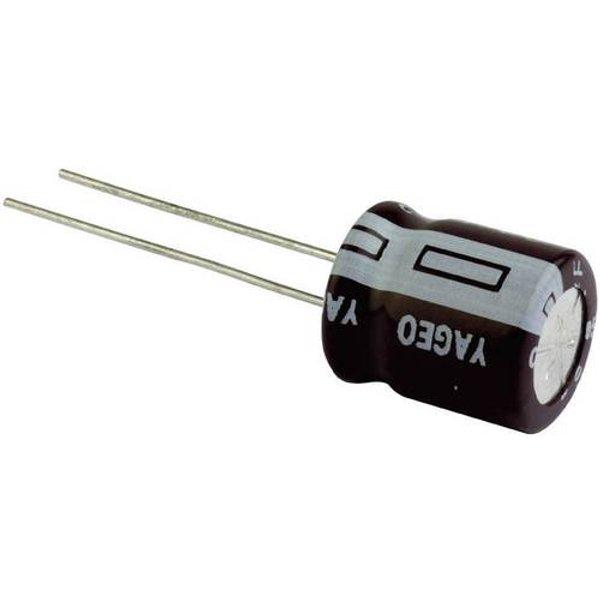 Condensateur électrolytique Yageo SE025M0220A5F-0811 SE025M0220A5F-0811 sortie radiale 5 mm 220 µF 25 V 20 % (Ø x h) 8