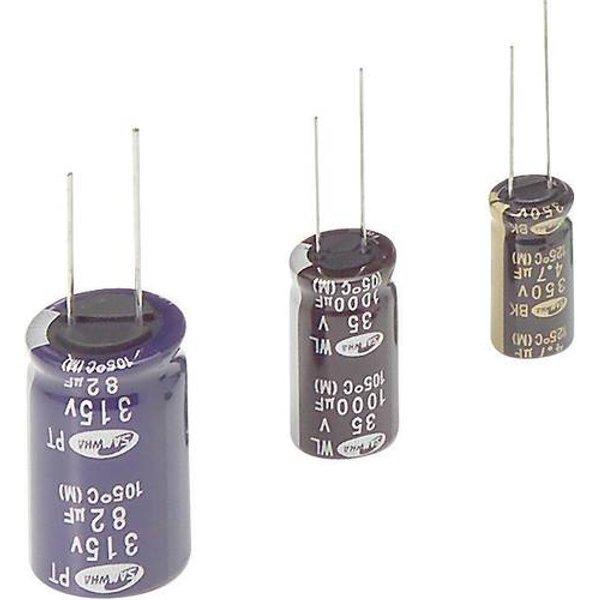 Condensateur électrolytique sortie radiale 1000 µF 10 V Samwha WB1A108M10016 (Ø x L) 10 mm x 16 mm 20 % Pas: 5 mm 1 pc(