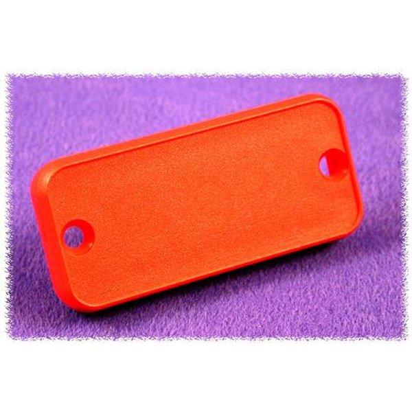 Plaque arrière Hammond Electronics 1455LPLRED ABS rouge (L x l x h) 8 x 103 x 30.5 mm