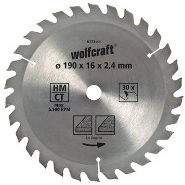1 lame de scie circulaire (6730000) - WOLFCRAFT
