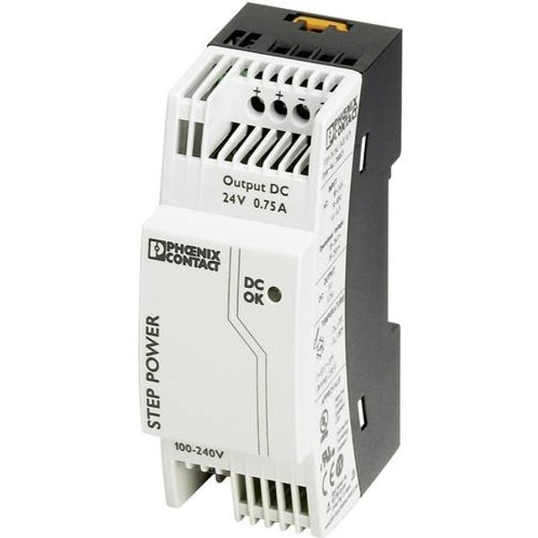 Phoenix Contact Hutschienen-Netzteil STEP-PS/1AC/24DC0.75