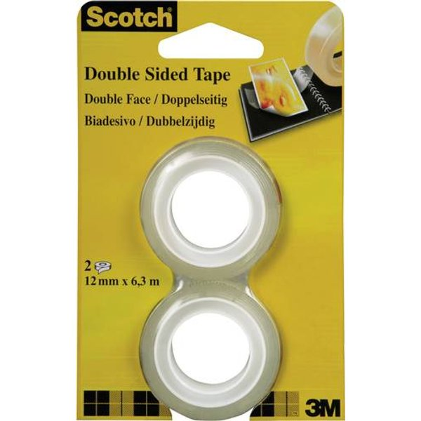 Scotch Klebeband Doppelseitig 2 Stück (7100126761)