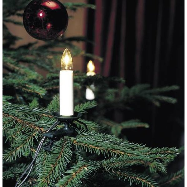 25-bulb indoor tree lights with top bulbs, 18.3 m