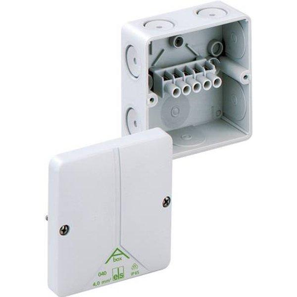 Boîte de raccordement Spelsberg 80440701 (L x l x h) 93 x 93 x 55 mm gris IP65 1 pc(s)