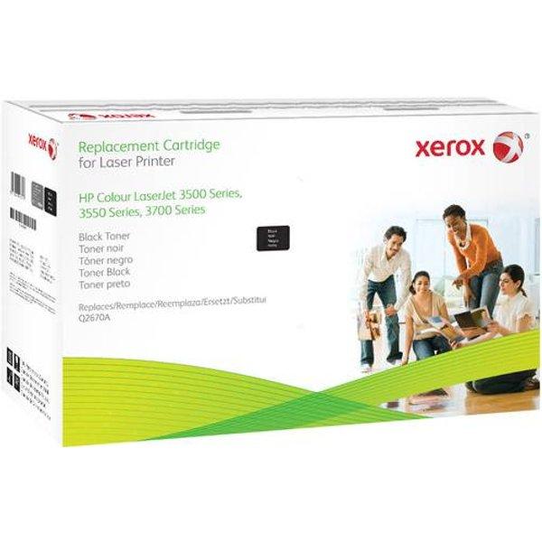Xerox - Schwarz - Tonerpatrone (Alternative zu: HP Q2670A) - f
