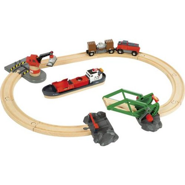 Brio Container Hafen Set 33061000