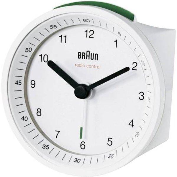 Braun 66009 Funk Wecker Schwarz Alarmzeiten 1