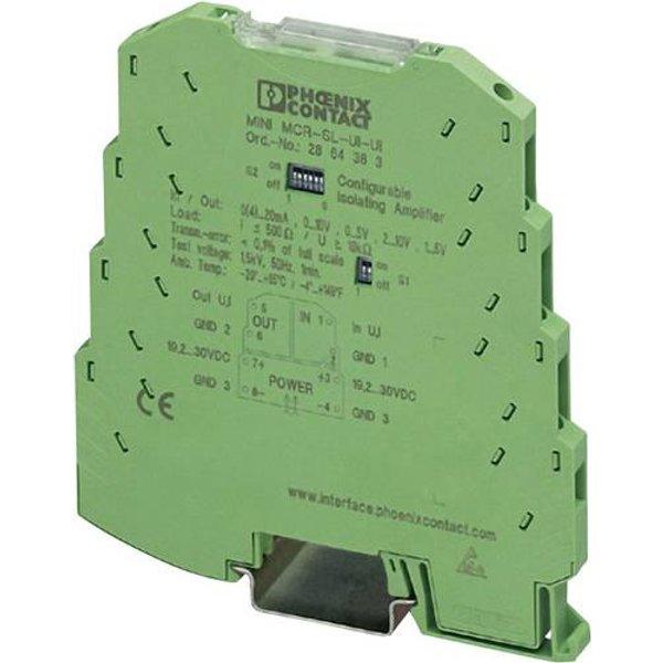 Konfigurierbarer 3-Wege-Trennverstärker Phoenix Contact MINI MCR-SL-UI-UI-NC 2864150 1 St