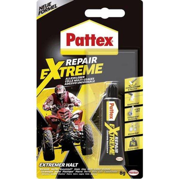Pattex Alleskleber 100% Repair Extreme, 8 g Tube