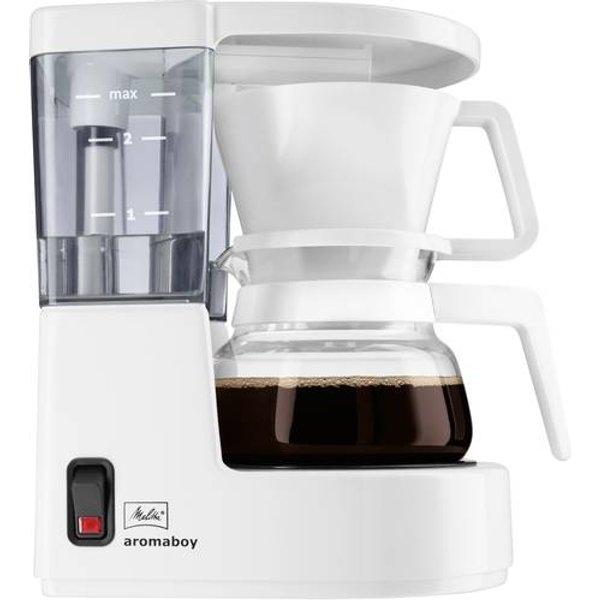 MELITTA 1015-01 Aromaboy - Machine à café (Blanc)