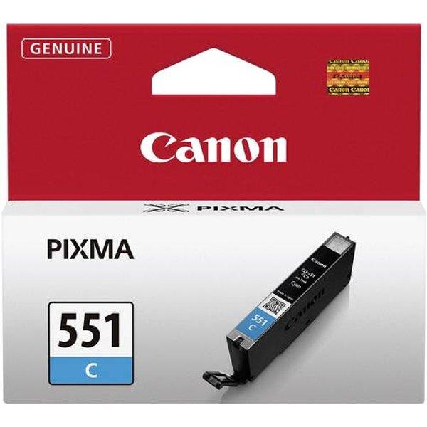 Canon CLI-551C - Ink (6509B001) - Tintenpatrone Cyan