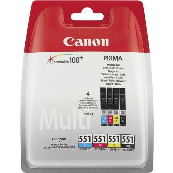 Canon »CLI-551 MULTIPACK C/M/Y/BK« Tintenpatrone