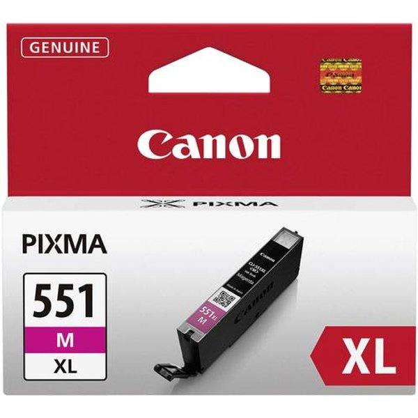 Canon CLI-551XLM Ink Cartridge Magenta, Magenta