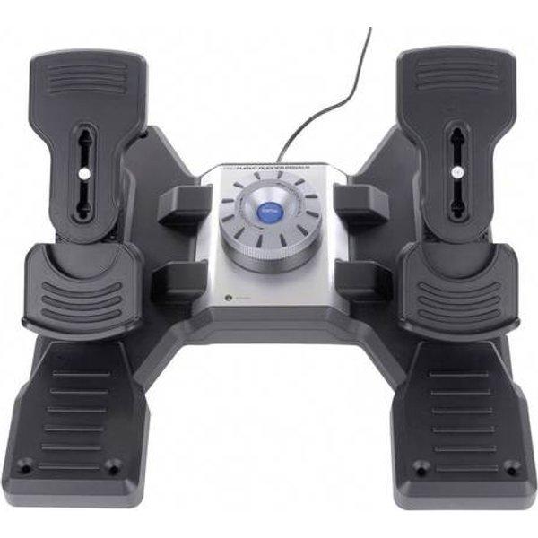 LOGITECH G Pro Flight Rudder Pedals - Simulateur avec pédale (Noir)