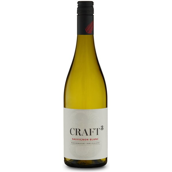 Craft 3 Marlborough Sauvignon Blanc - Case of 6
