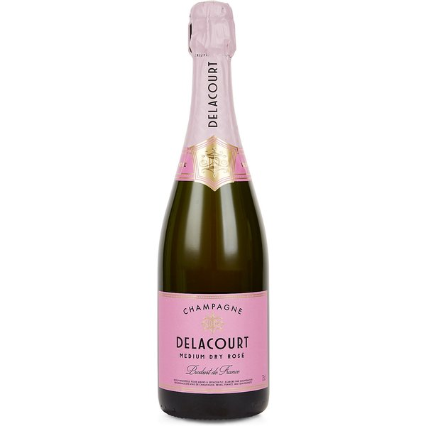 Champagne Delacourt Medium Dry Rosé - Case of 6
