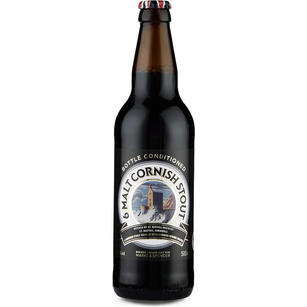6 Malt Cornish Stout - Case of 20