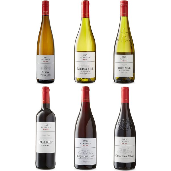 Classics French Mixed Case - Case of 6