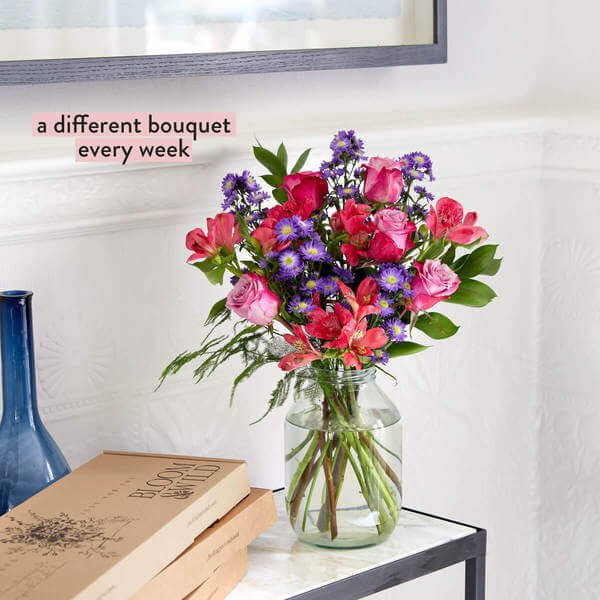 A Year of Flowers - Flowers - Letterbox Flowers - Flower Delivery - Send Flowers - Birthday Gift - Birthday Flowers - Winter Flowers - Bloom & Wild Flowers - Flower Gift - Flower Bouquet - A Year of Weekly Flowers