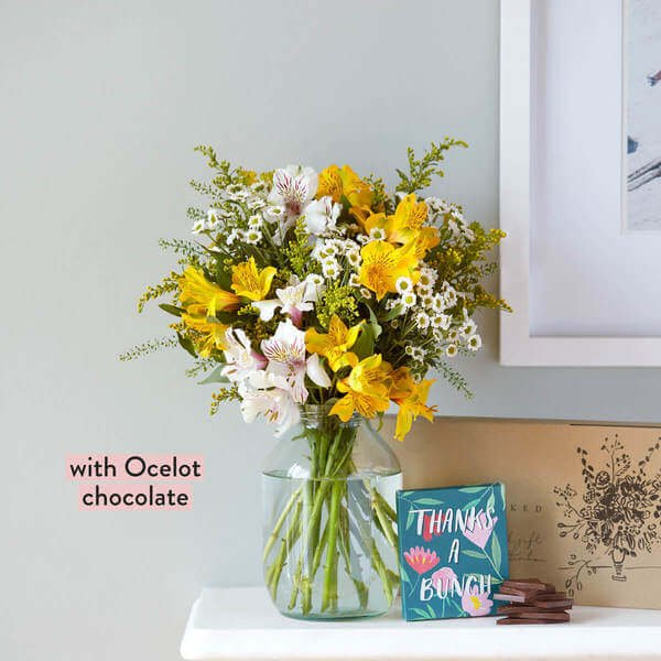 Letterbox Flowers - Next Day Delivery - The Thank You Bouquet