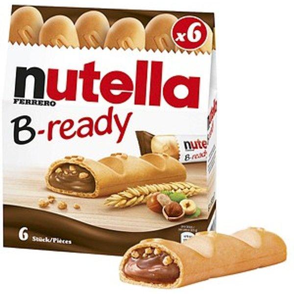 FERRERO nutella B-ready Waffeln 6 St