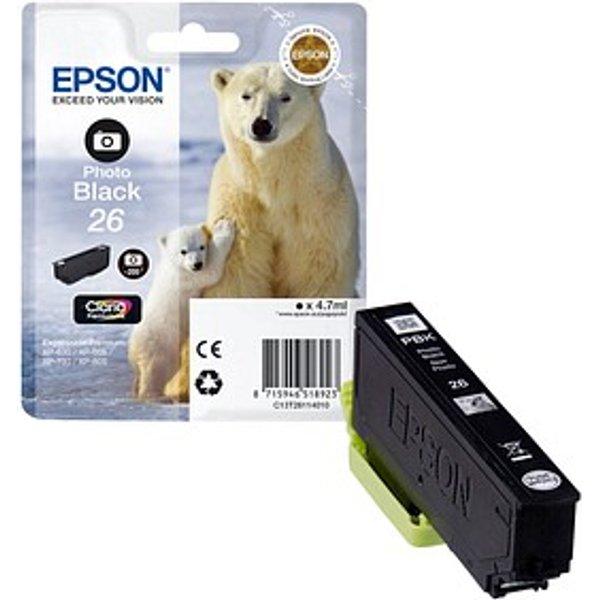 Epson t2611 cartouche d'encre noir xp520/620/720/820