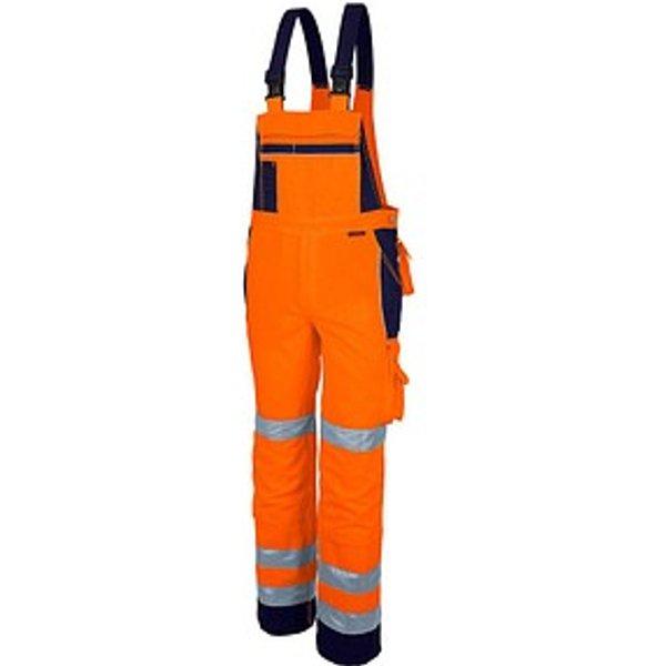 QUALITEX® unisex Warnschutzhose orange Größe 110