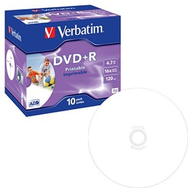 DataLifePlus - DVD+R x 10 - 4.7 Go - support de stockage