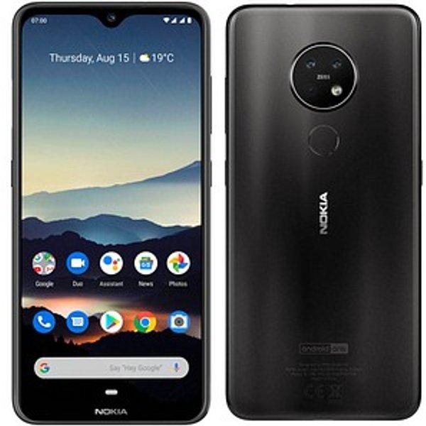 NOKIA 7.2 Dual-SIM-Smartphone charcoal-black 64 GB