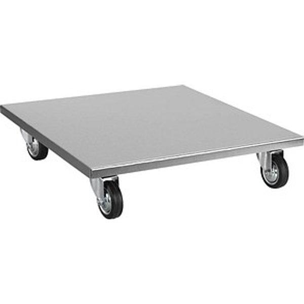 SZ Metall Transportroller, silber, Breite: 50 cm