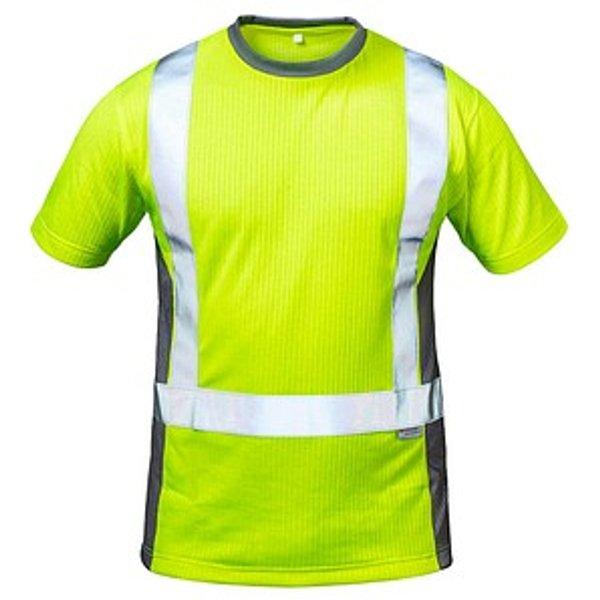 elysee® unisex Warnschutz Shirt AMSTERDAM gelb Größe 2XL