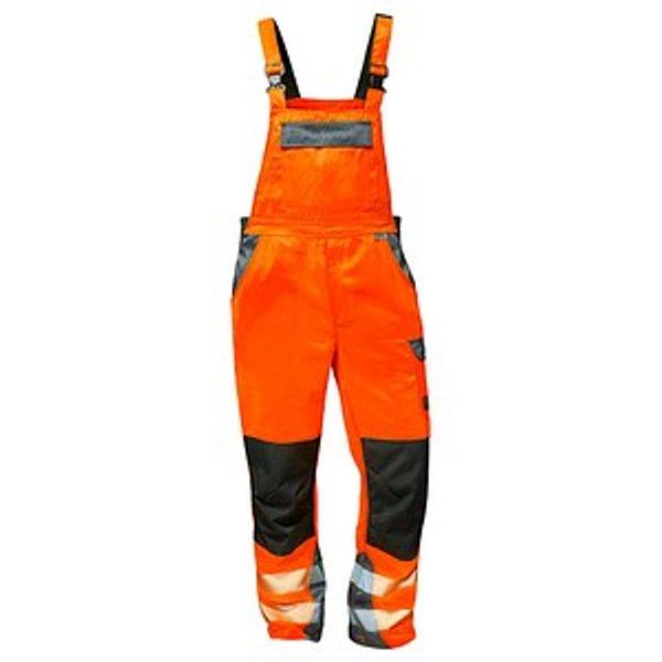 elysee® unisex Warnschutzhose METZ orange Größe 28