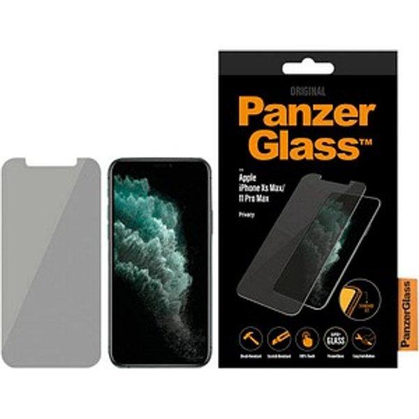 PanzerGlass™   Display-Blickschutzfolie für Apple iPhone Xs Max/11 Pro Max